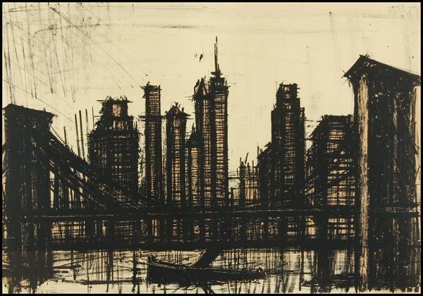 104: Bernard Buffet - Manhattan Series