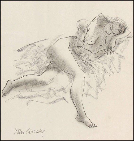 110: John Carroll - Nude Woman Reclining
