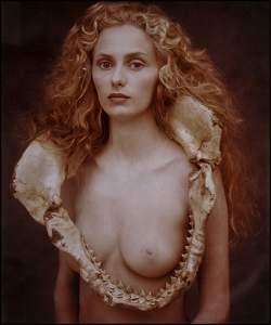 113: Joyce Tenneson - Nude with Shark Jaw