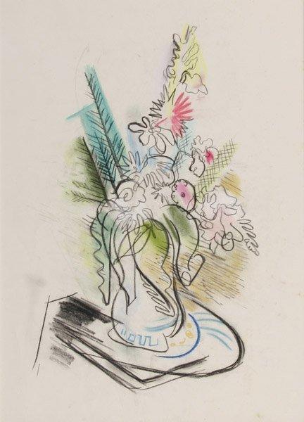 114: Charles Rosen - Floral Still Life