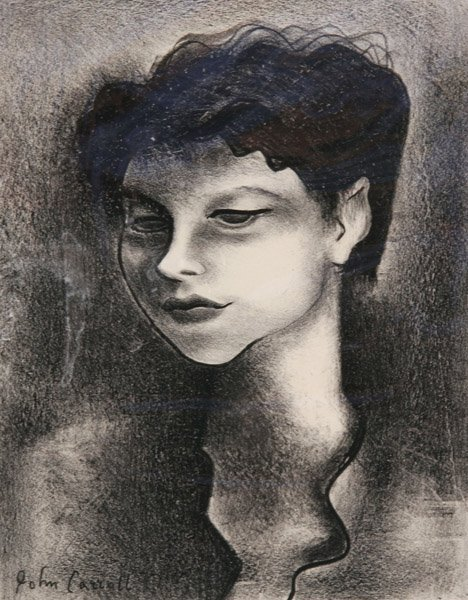 117: John Carroll - Portrait of Katherine Schmidt