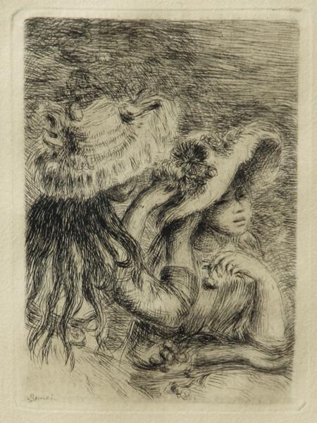 119: Pierre-Auguste Renoir - Le Chapeau Epingle-3e plan
