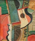 164 Pia ste Alexander  Cubist Still Life with Guitar