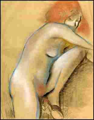 215: Arthur Beecher Carles - Angele, Nude