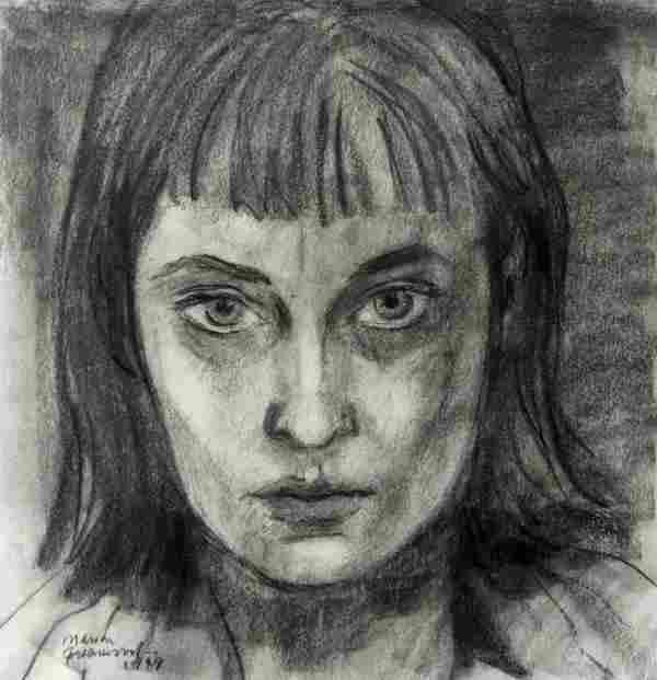 Marion Greenwood - Self-Portrait