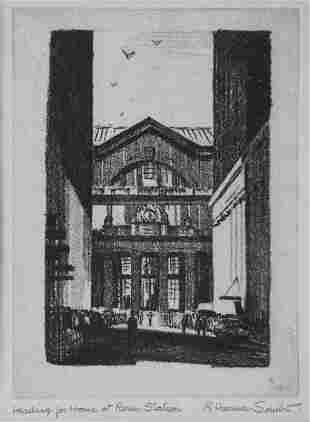 R. Harmer Smith, Heading Home at Penn Station