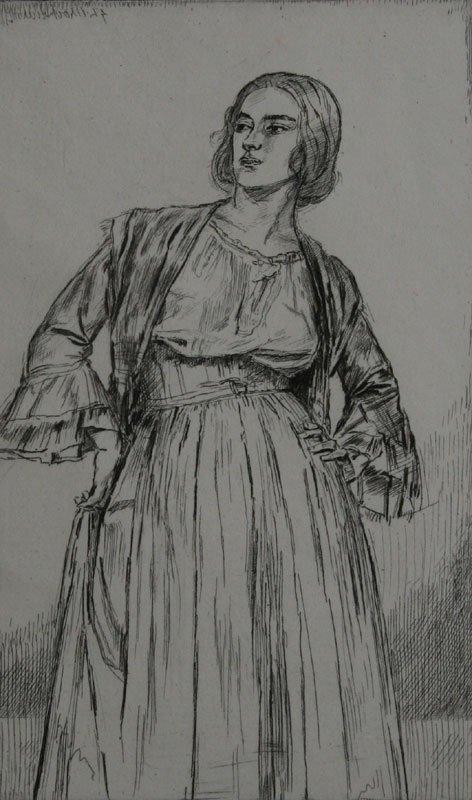 A & B, Gerlad Brocklerst, etchings