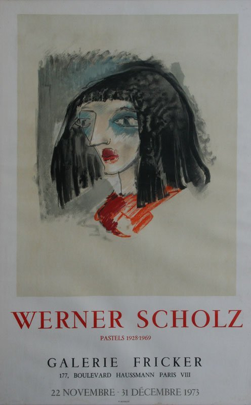 A & B. Scholz and Matisse, Exhibition Poster