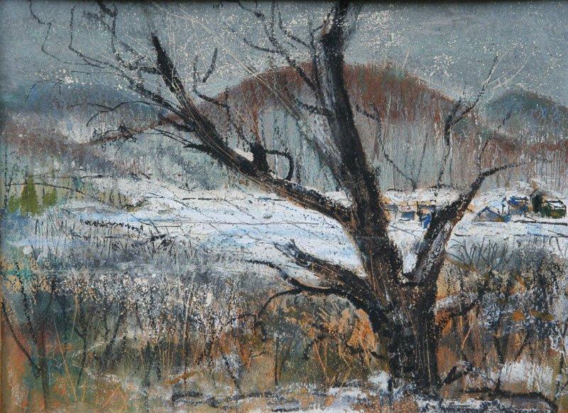 George Shawe, Beach Tree - Winter