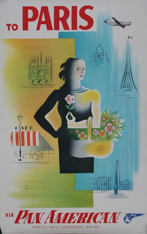 Jean Carlu, To Paris