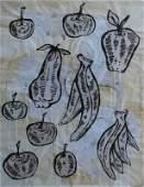 """Donald Baechler, Untitled (""""Fruit"""")"""