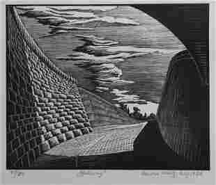 A,B,C & D, Arnold Wiltz, Wood Engravings