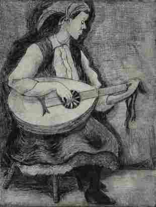 Jane Axel (b. 1925) LOT OF 2