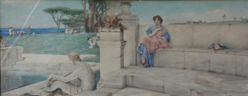 After Sir Lawrence Alma Tadema (1836-1912)