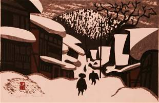 Yashi Saito, Japanese, (1907-1997)