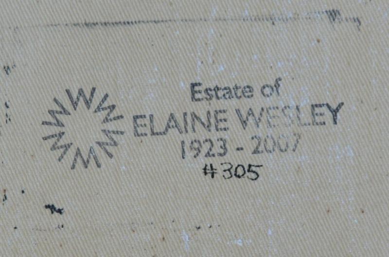 Elaine Wesley (1923-2007) - 3
