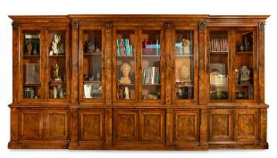 Breakfront bookcase HOLLAND & SONS (1803-1942);