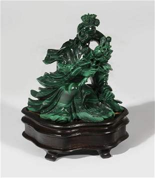 Fairy figure. China, mid-twentieth century. Hand carved