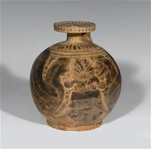 Greek Aribalos, 6th century BC. C. Ceramics.