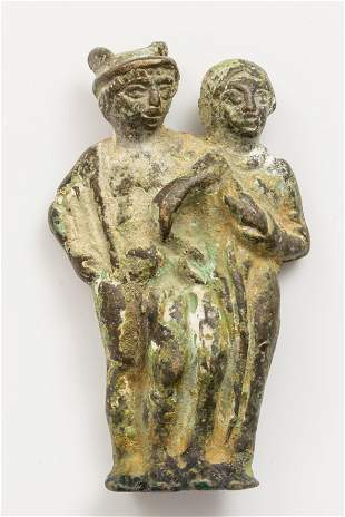 Sculpture; Rome, 2nd-3rd centuries AD Bronze.