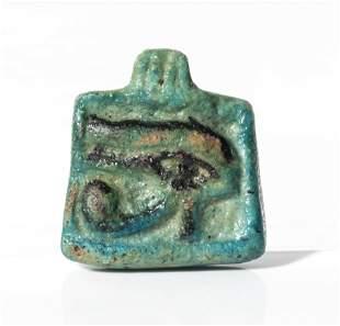 Amulet of Udjat/Eye of Horus. Egypt, Lower Epoch,