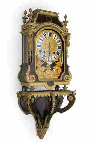 Boulle clock, Louis XIV period. France, first half of