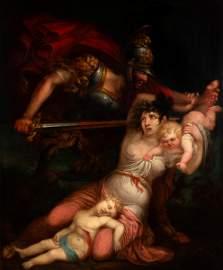SALVADOR MAYOL (Barcelona, 1765-1834).  Oil on canvas.