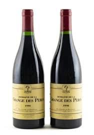 Two Domaine de la Grange des Pères bottles, 1996.