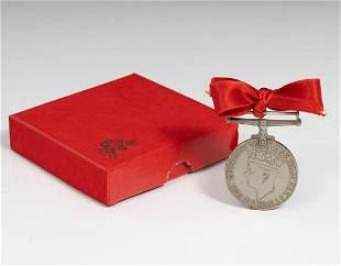 VIVIEN LEIGH. English World War II medal.