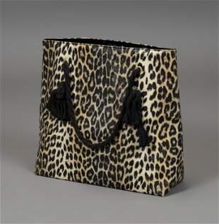 VIVIEN LEIGH. Handbag with handles. England, 60's.