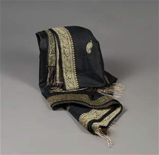 VIVIEN LEIGH. Foulard from the 60's. Silk and gold