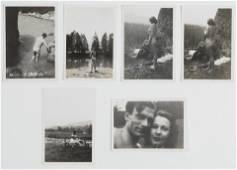 VIVIEN LEIGH.  Set of six photographs from Vivien
