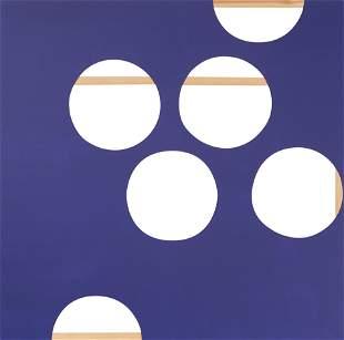 "BERTA JAYO (Santander, 1971). ""Purple canvas with"