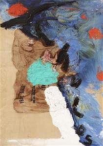 "JULIAN SCHNABEL (Brooklyn, New York, 1951).  ""Chulos"","