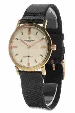 Vacheron Constantin extra flat watch in gold (18kts.)
