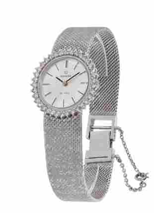 OMEGA De Ville watch, years 30-40, made in 18 Ct. white
