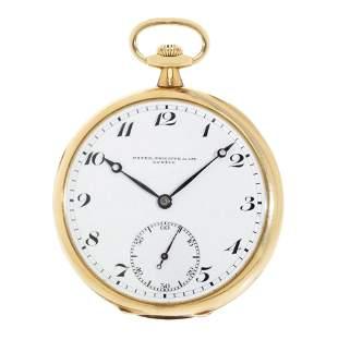 PATEK PHILIPPE pocket watch, n. machinery 188987, n.