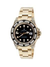 Watch ROLEX GMT-Master II Bezel Diamond & Sapphire,