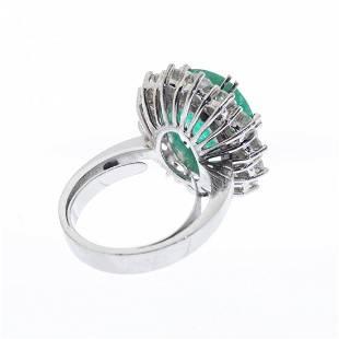 Ring rosette in 18 kts