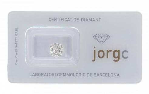 Natural diamond, color I, purity P1