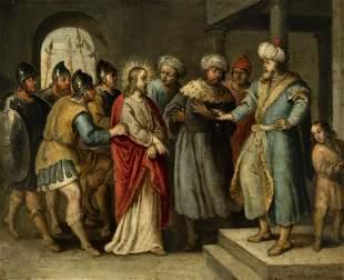 "Flemish school of the seventeenth century. ""Jesus and"
