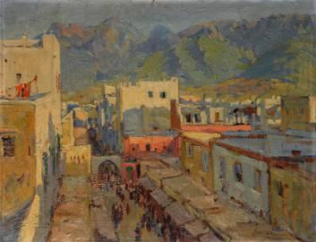 MARIANO BERTUCHI NIETO (Granada, 1884 - Tetuan, 1955).