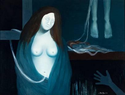 "JOSEP URIBE ROBERT (Vic, 1945). ""Oníric"", 1972."
