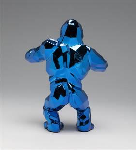 "RICHARD ORLINSKI (Paris, 1966). ""Kong Spirit,"" Blue"