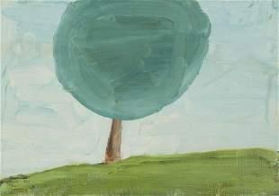 DONALD BAECHLER (Hartford, 1956). Untitled, 1989. Oil