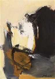 """JOSÉ GUERRERO (Granada, 1914 - Barcelona, 1991)  """"Dark"""