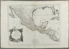 """""""MAP OF MEXICO AND THE NEW SPAIN"""", from the """"Atlas"""