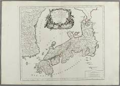 """""""EMPIRE OF JAPAN"""", map belonging to the """"Atlas"""