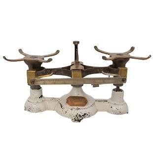 Vintage Cast Iron Pharmacy Scale