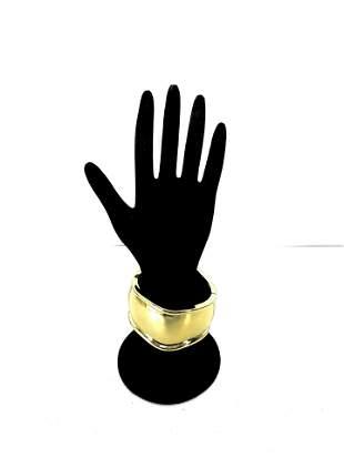 Gold Cuff Costume Bracelet